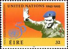 [The 50th Anniversary of the United Nations, type XY]