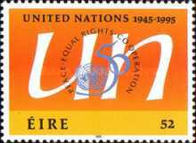 [The 50th Anniversary of the United Nations, type XZ]