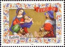 [Christmas Stamps, Typ YA]