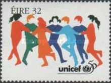 [The 50th Anniversary of UNICEF, Typ YU]