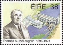 [The 100th Anniversary of the Birth of Thomas A. McLaughlin, 1896-1971, Typ ZD]