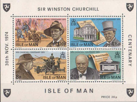 [The 100th Anniversary of the Birth of Sir Winston Churchill, type ]