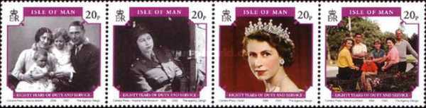 [The 80th Anniversary of the Birth of Queen Elizabeth II, type ]