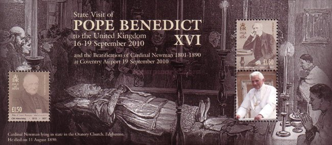 [State Visit of pope Benedict XVI to the UK, type ]