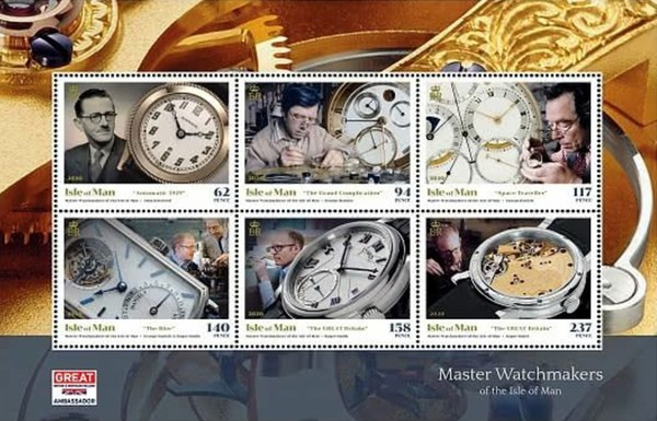 [Master Watchmakers of the Isle of Man, type ]