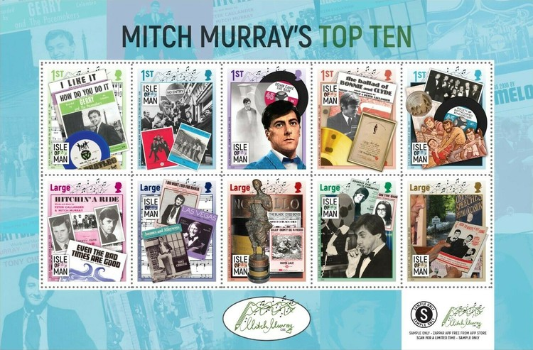 [The Top Ten of Mitch Murray, type ]