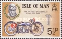 [Winners of the Isle of Man TT Motorcycle Races, type AS]