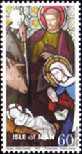 [Christmas - Stained Glass Windows, type AST]