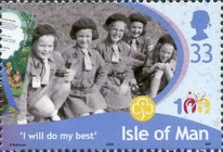 [The 100th Anniversary of Girlguiding, type BEL]