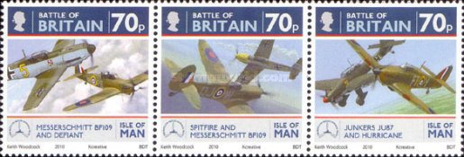 [The 70th Anniversary of the Battle of Britain - Airplanes, type BEU]