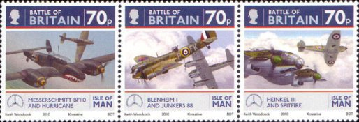 [The 70th Anniversary of the Battle of Britain - Airplanes, type BEX]