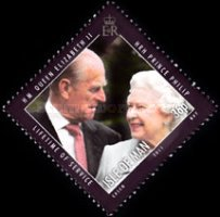 [Lifetime of Service - Queen Elizabert II & Prince Philip, type BGS]