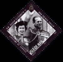 [Lifetime of Service - Queen Elizabert II & Prince Philip, type BGU]