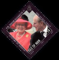 [Lifetime of Service - Queen Elizabert II & Prince Philip, type BGV]