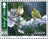 [EUROPA Stamps - The Forest, Birds, type BPQ]