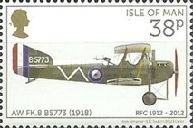 [The 100th Anniversary of the RFC - Royal Flying Corps, type BSC]