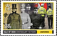 [The 150th Anniversary of the IOM Constabulary, type BTI]