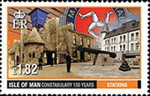 [The 150th Anniversary of the IOM Constabulary, type BTN]