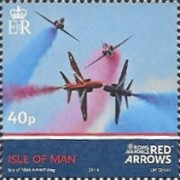 [Royal Air Force - The 50th Anniversary of the Red Arrows, type BWN]