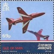 [Royal Air Force - The 50th Anniversary of the Red Arrows, type BWP]