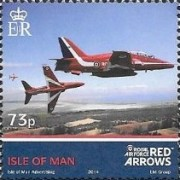 [Royal Air Force - The 50th Anniversary of the Red Arrows, type BWQ]