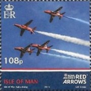 [Royal Air Force - The 50th Anniversary of the Red Arrows, type BWR]