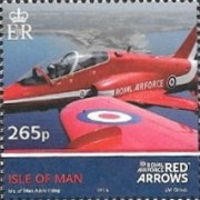 [Royal Air Force - The 50th Anniversary of the Red Arrows, type BWS]