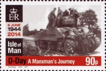 [The 70th Anniversary of D-Day, type BXR]