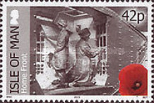 [The 100th Anniversary of World War I - Battle Fronts, type BZM]