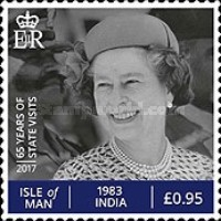 [The 65th Anniversary of the Accession of HM The Queen, type CGN]