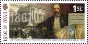 [The 150th Anniversary of the First Open House of Keys Election, type CGS]