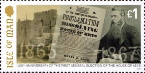 [The 150th Anniversary of the First Open House of Keys Election, type CGT]
