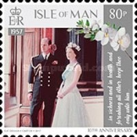 [The 70th Anniversary of the Wedding of Queen Elizabeth II and Prince Philip, type CIE]