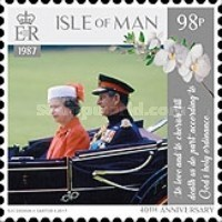 [The 70th Anniversary of the Wedding of Queen Elizabeth II and Prince Philip, type CIF]