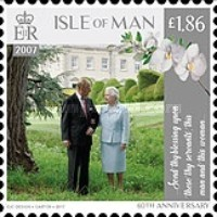 [The 70th Anniversary of the Wedding of Queen Elizabeth II and Prince Philip, type CIH]