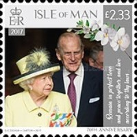 [The 70th Anniversary of the Wedding of Queen Elizabeth II and Prince Philip, type CII]