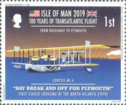 [The 100th Anniversary of the First Transatlantic Flight, type CPW]