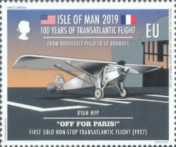 [The 100th Anniversary of the First Transatlantic Flight, type CPX]