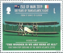 [The 100th Anniversary of the First Transatlantic Flight, type CPY]