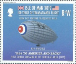 [The 100th Anniversary of the First Transatlantic Flight, type CPZ]