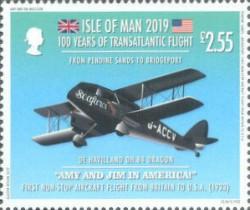[The 100th Anniversary of the First Transatlantic Flight, type CQB]