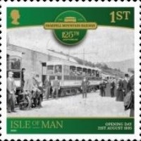 [The 125th Anniversary of the Snaefell Mountain Railway, type CTI]