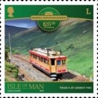 [The 125th Anniversary of the Snaefell Mountain Railway, type CTK]