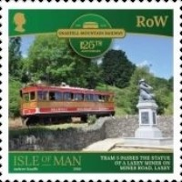 [The 125th Anniversary of the Snaefell Mountain Railway, type CTL]