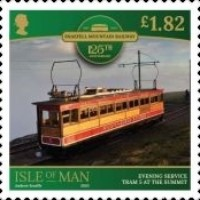 [The 125th Anniversary of the Snaefell Mountain Railway, type CTM]