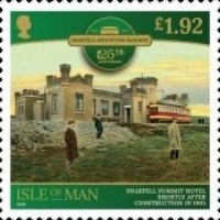 [The 125th Anniversary of the Snaefell Mountain Railway, type CTN]
