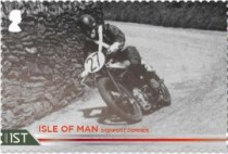 [The 100th Anniversary of the 37¾ Miles of Isle of Man TT Course, type CUQ]