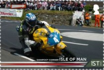[The 100th Anniversary of the 37¾ Miles of Isle of Man TT Course, type CUR]