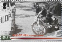 [The 100th Anniversary of the 37¾ Miles of Isle of Man TT Course, type CUS]