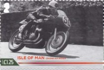 [The 100th Anniversary of the 37¾ Miles of Isle of Man TT Course, type CUU]
